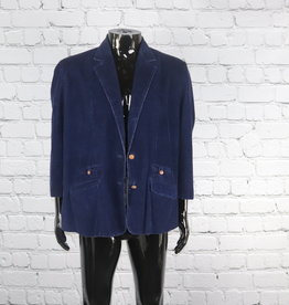 Good N Plenty: Vintage Navy Corduroy Jacket for Guys