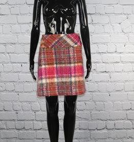 Francis: Vintage Plaid Mohair Skirt