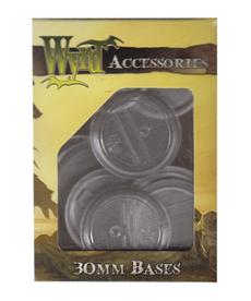 Wyrd Miniatures - WYR 30mm Clear Bases (10)