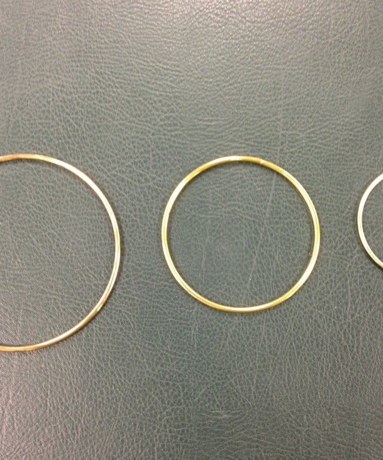 "4"" Brass Ring"