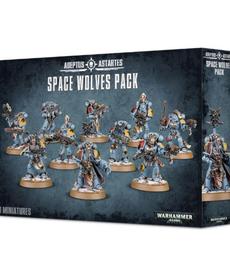 Games Workshop - GAW Warhammer 40k - Adeptus Astartes - Space Wolves Pack