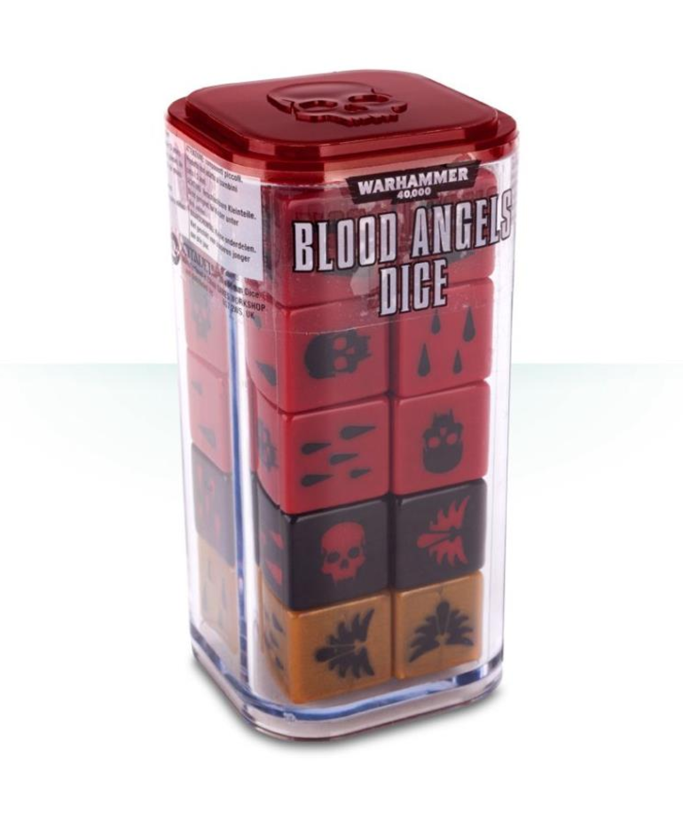 Games Workshop - GAW Warhammer 40k - Blood Angels - Dice