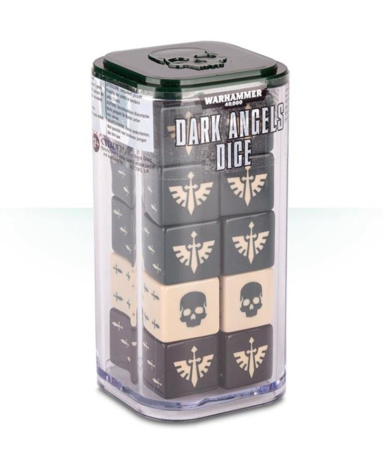 Games Workshop - GAW Warhammer 40k - Dark Angels - Dice