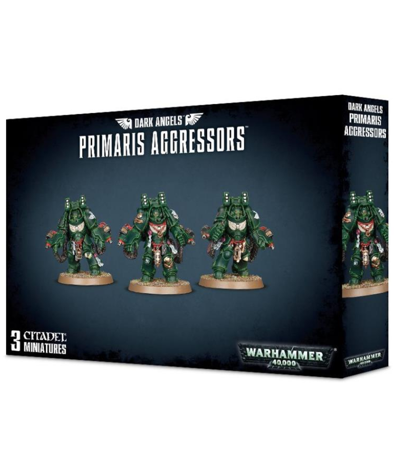 Games Workshop - GAW Warhammer 40k - Dark Angels - Primaris Aggressors