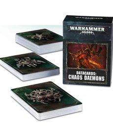 Games Workshop - GAW Warhammer 40k - Datacards: Chaos Daemons