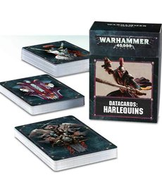 Games Workshop - GAW Warhammer 40k - Datacards: Harlequins