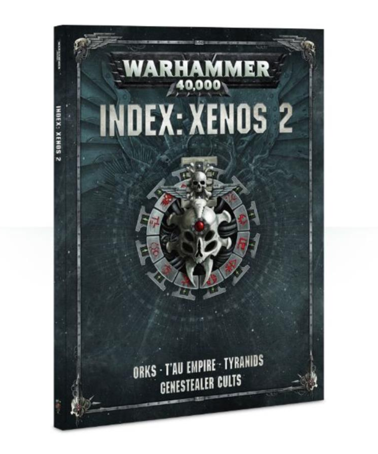 Games Workshop - GAW CLEARANCE - HALF OFF - Warhammer 40K - Index: Xenos Vol.2