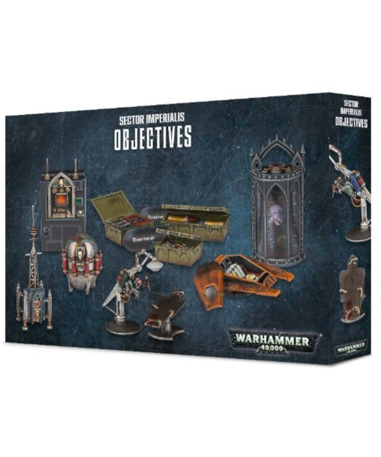 Games Workshop - GAW Warhammer 40K - Objectives: Sector Imperialis