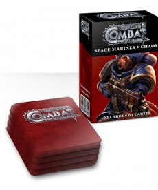 Games Workshop - GAW Space Marines / Chaos - Citadel Combat Cards