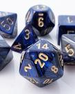 Chessex - CHX 7-Die Polyhedral Set Royal Blue w/gold Scarab