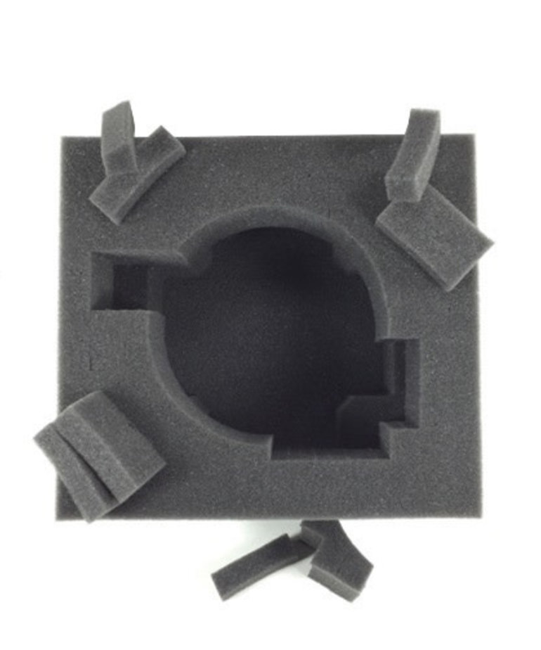 Battle Foam - BAF Battle Foam: Trays - Universal 120mm Base Tray - 8 Inch (PP.5-8)
