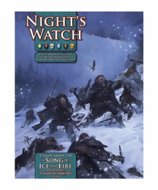 Green Ronin Publishing - GRR A Song of Ice and Fire Roleplaying: Night's Watch (Domestic Orders Only)