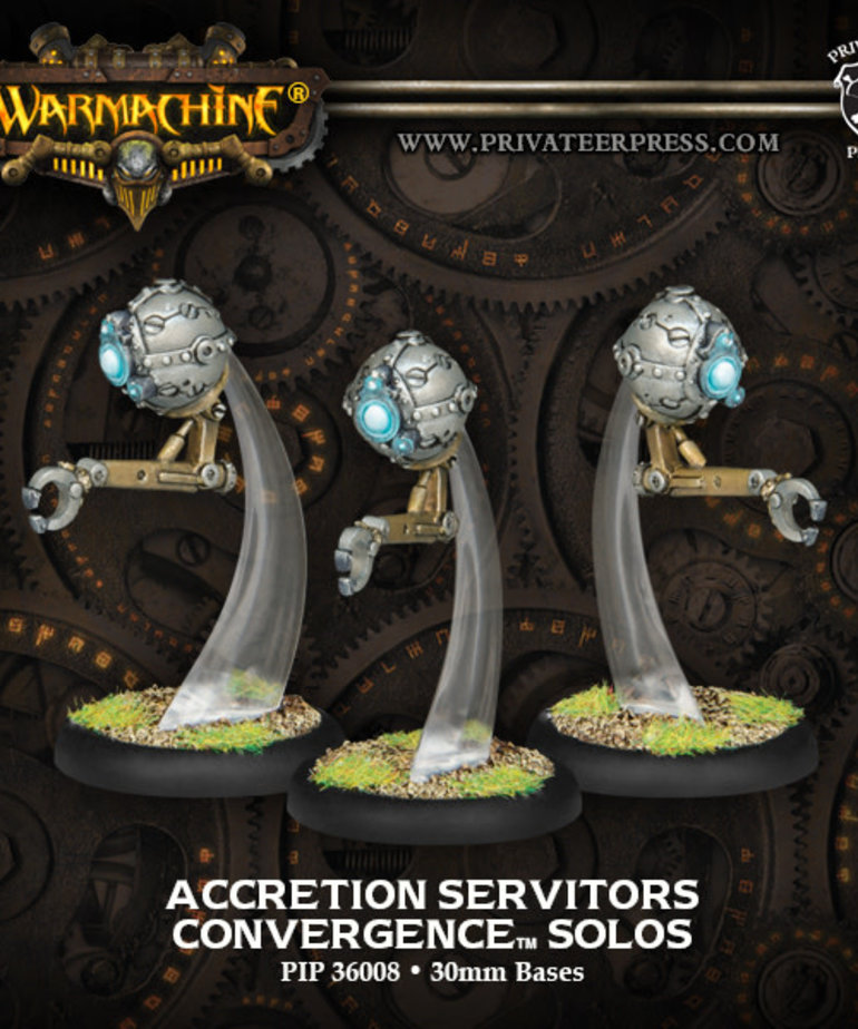 Privateer Press - PIP Warmachine - Convergence of Cyriss - Accretion Servitors - Solos