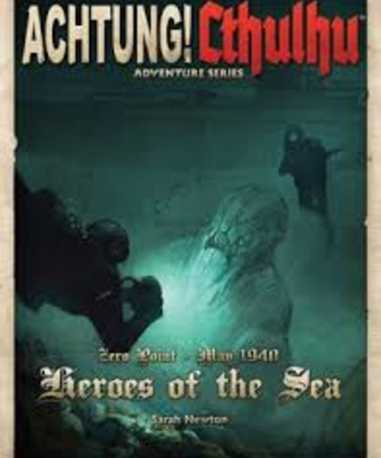 Modiphius Entertainment - MUH Achtung! Cthulhu RPG: Heroes of the Sea (Domestic Orders Only)