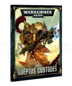 Games Workshop - GAW Warhammer 40k - Codex: Adeptus Custodes