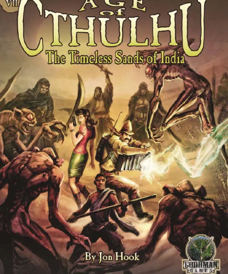 Age of Cthulhu 7: The Timeless Sands of India (Domestic Orders Only)