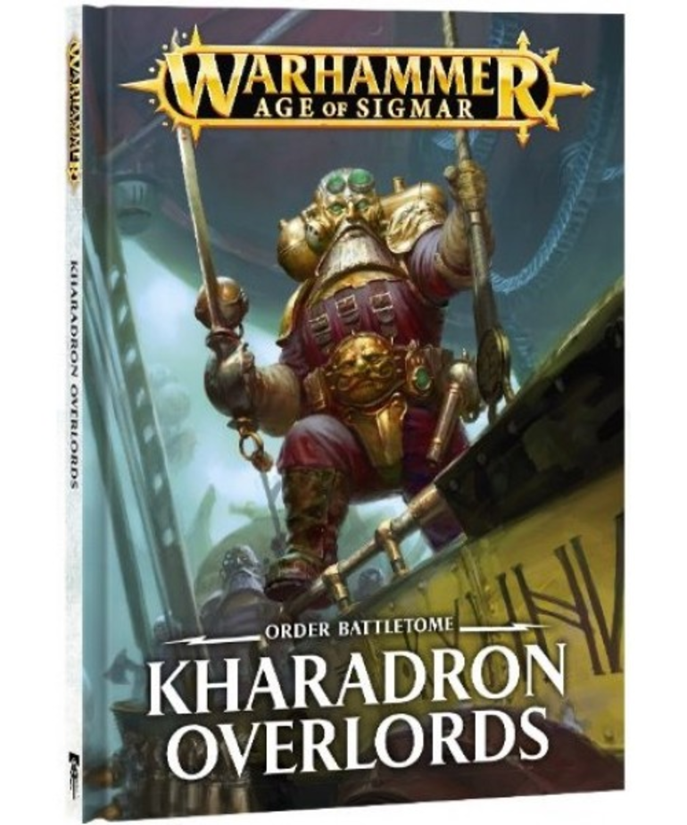 Games Workshop - GAW CLEARANCE Warhammer Age of Sigmar - Order Battletome: Kharadron Overlords (HB)
