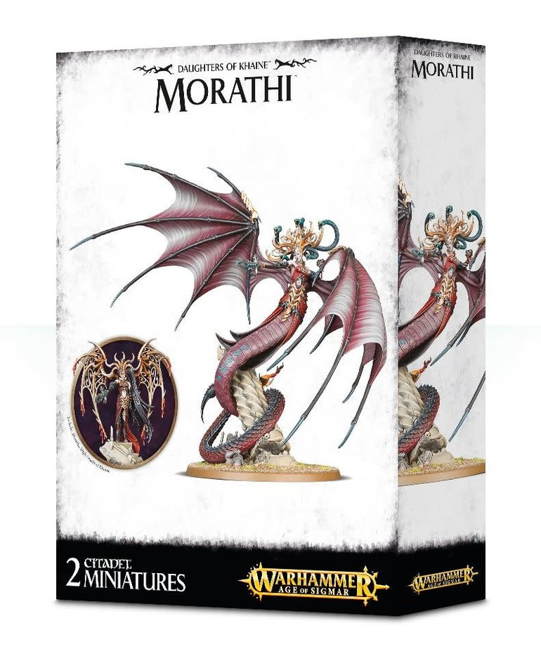Games Workshop - GAW Warhammer Age of Sigmar - Daughters of Khaine - Morathi