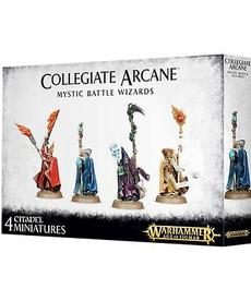 Games Workshop - GAW Warhammer Age of Sigmar - Collegiate Arcane - Mystic Battle Wizards