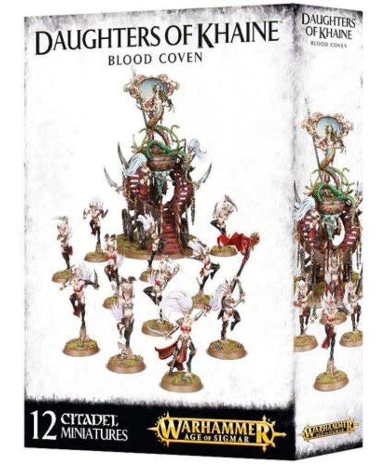 Games Workshop - GAW Warhammer Age of Sigmar - Daughters of Khaine - Blood Coven