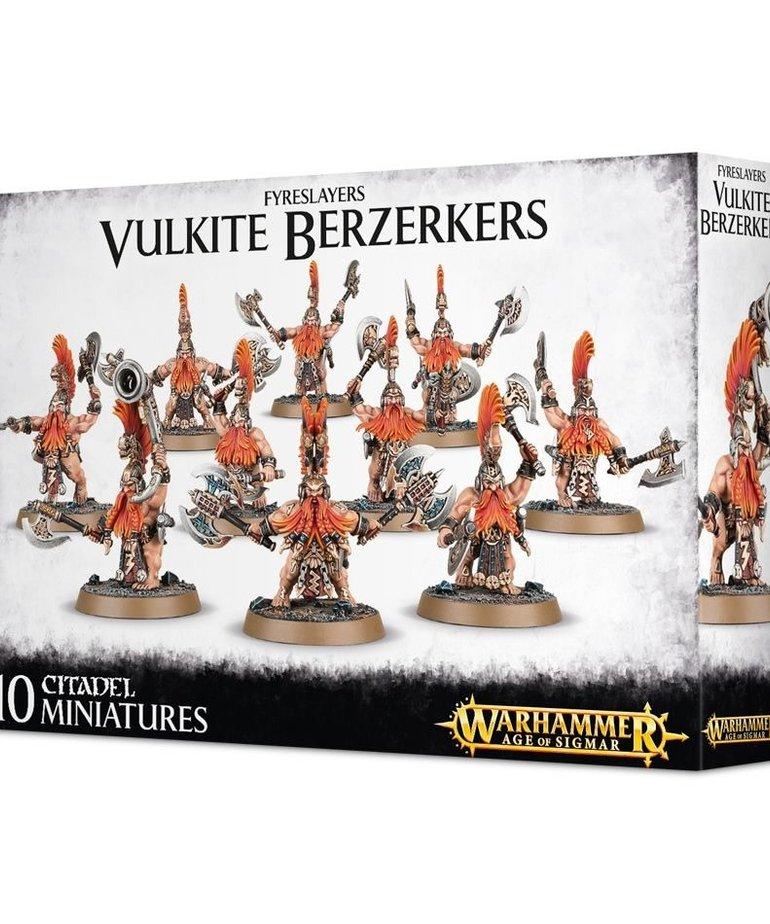 Games Workshop - GAW Warhammer Age of Sigmar - Fyreslayers - Vulkite Berzerkers