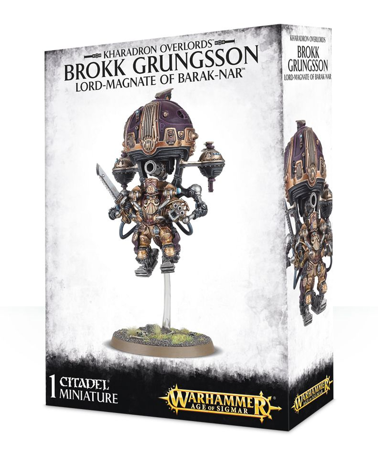 Games Workshop - GAW Warhammer Age of Sigmar - Kharadron Overlords - Brokk Grungsson, Lord-Magnate of Barak-Nar