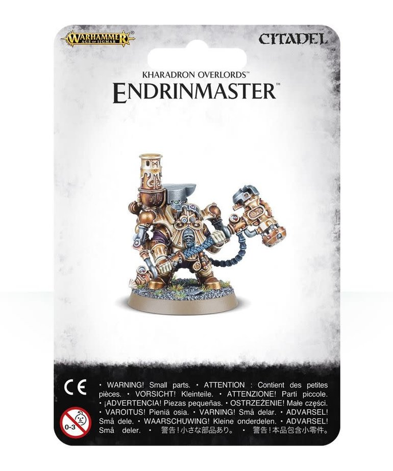 Games Workshop - GAW Warhammer Age of Sigmar - Kharadron Endrinmaster