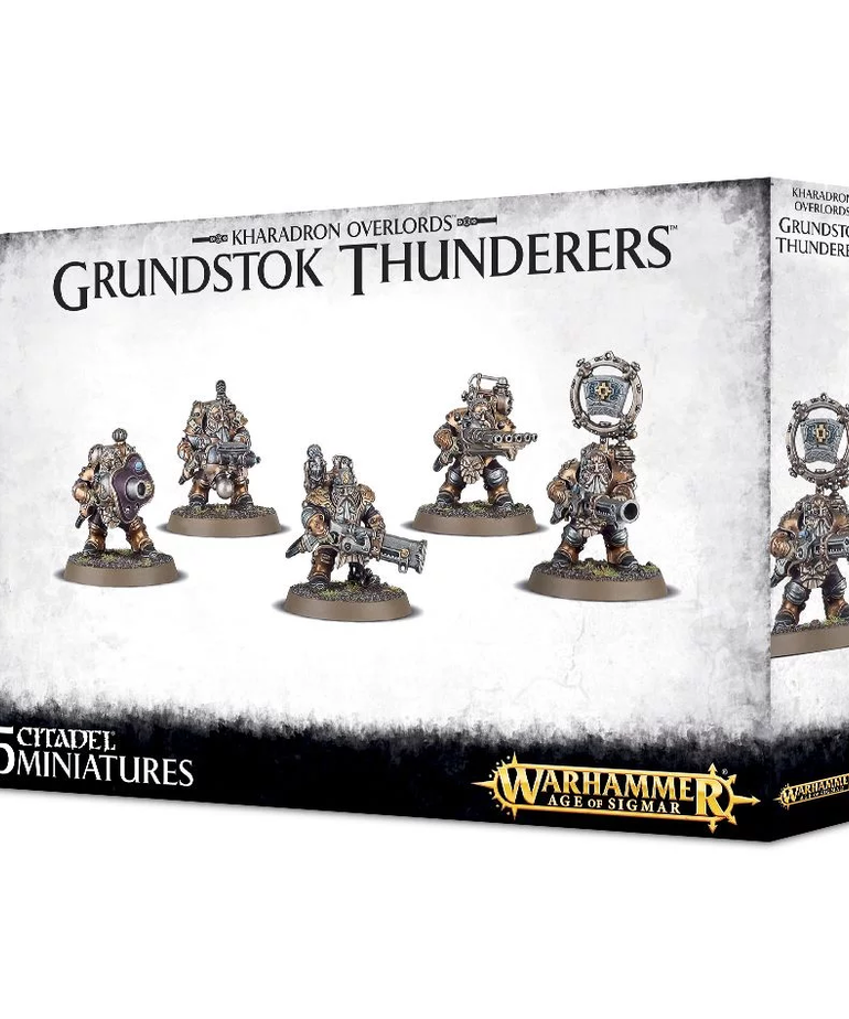 Games Workshop - GAW Warhammer Age of Sigmar - Kharadron Overlords - Grundstok Thunderers