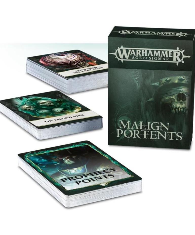 Games Workshop - GAW Warhammer Age of Sigmar: Malign Portents - Cards