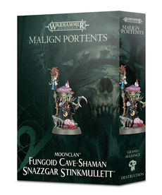Games Workshop - GAW Warhammer Age of Sigmar: Malign Portents - Moonclan - Fungoid Cave-Shaman, Snazzgar Stinkmullett
