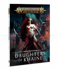 Games Workshop - GAW Warhammer Age of Sigmar - Order Battletome: Daughters of Khaine