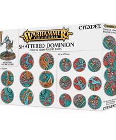 Citadel - GAW Warhammer Age of Sigmar - Shattered Dominion - 25mm & 32mm Round Bases