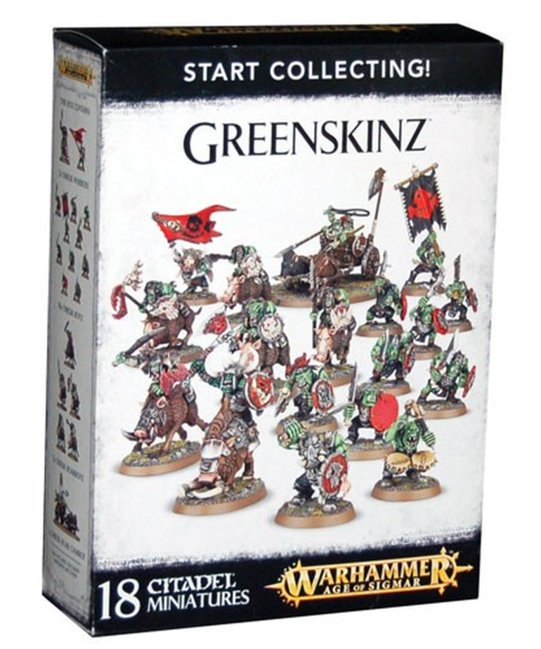 Games Workshop - GAW Warhammer Age of Sigmar - Start Collecting!: Greenskinz