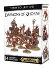Games Workshop - GAW Warhammer Age of Sigmar - Start Collecting!: Daemons of Khorne