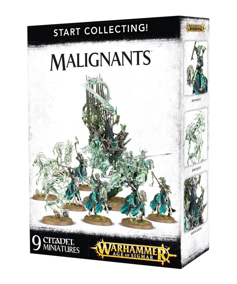 Games Workshop - GAW Warhammer Age of Sigmar - Start Collecting!: Malignants
