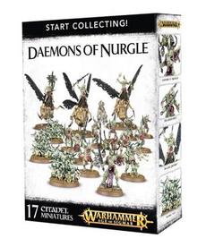 Games Workshop - GAW Warhammer Age of Sigmar - Start Collecting!: Daemons of Nurgle