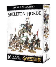 Games Workshop - GAW Warhammer Age of Sigmar - Start Collecting!: Skeleton Horde