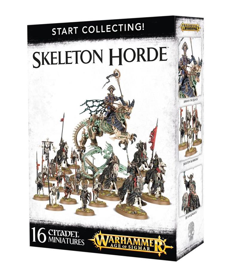 Games Workshop - GAW Warhammer Age of Sigmar - Start Collecting!: Skeleton Horde