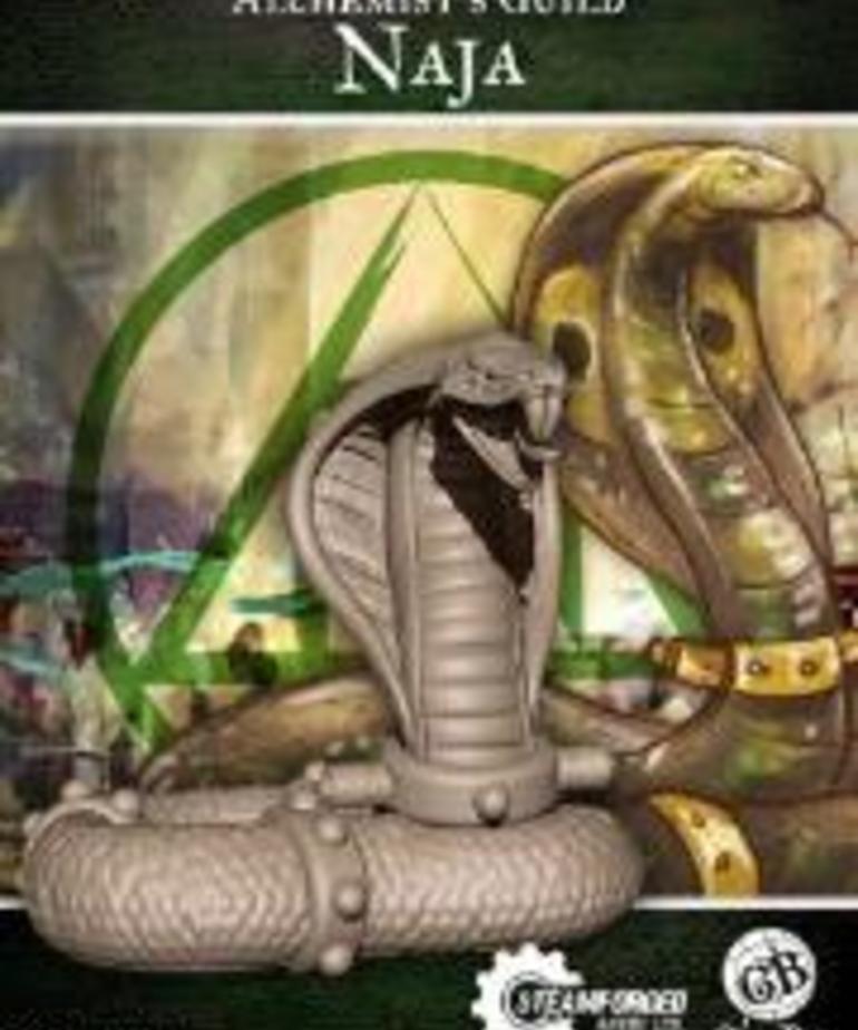 Steamforged Games LTD - STE Alchemist's Guild: Naja (Season 2)