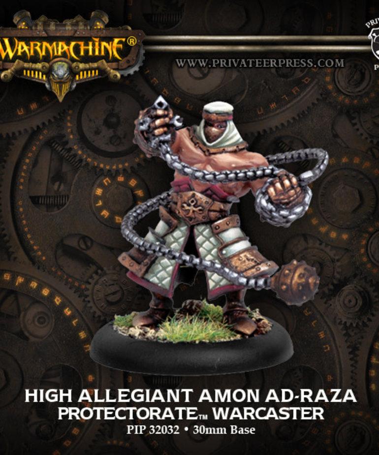 Privateer Press - PIP Warmachine - Protectorate of Menoth - High Allegiant Amon Ad-Raza - Warcaster (Ad-Raza1)