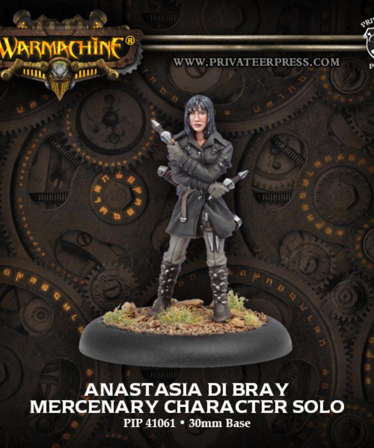 Privateer Press - PIP Warmachine - Mercenaries - Anastasia di Bray - Character Solo
