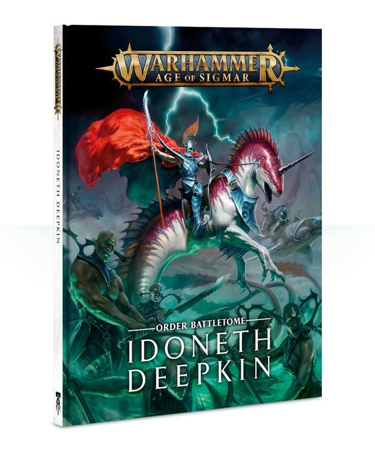 Games Workshop - GAW Warhammer Age of Sigmar - Battletome: Idoneth Deepkin