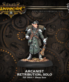 Privateer Press - PIP Warmachine - Retribution of Scyrah - Arcanist - Solo