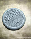 Secret Weapon Miniatures - SWM CLEARANCE Asian Garden 50mm Base 02 Secret Weapon Bases