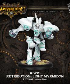 Privateer Press - PIP Warmachine - Retribution of Scyrah - Aspis - Light Myrmidon