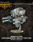 Privateer Press - PIP Warmachine - Convergence of Cyriss - Assimilator / Conservator / Modulator - Heavy Vector