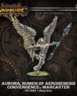 Privateer Press - PIP Warmachine - Convergence of Cyriss - Aurora, Numen of Aerogenesis - Warcaster (Aurora 1)