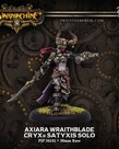 Privateer Press - PIP Warmachine - Cryx -  Axiara Wraithblade - Satyxis Character Solo