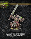 Privateer Press - PIP Hordes - Circle Orboros - Baldur Stonecleaver, the Stonesoul - Warlock (Baldur 1)