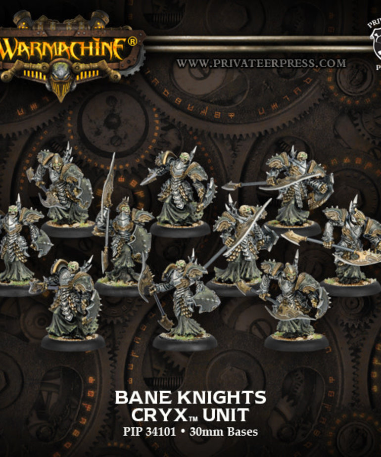 Privateer Press - PIP Warmachine - Cryx - Bane Knights - Unit